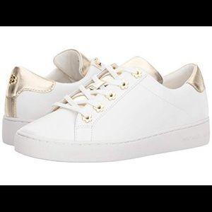 Michael Kors White Daisy Fashion Sneakers